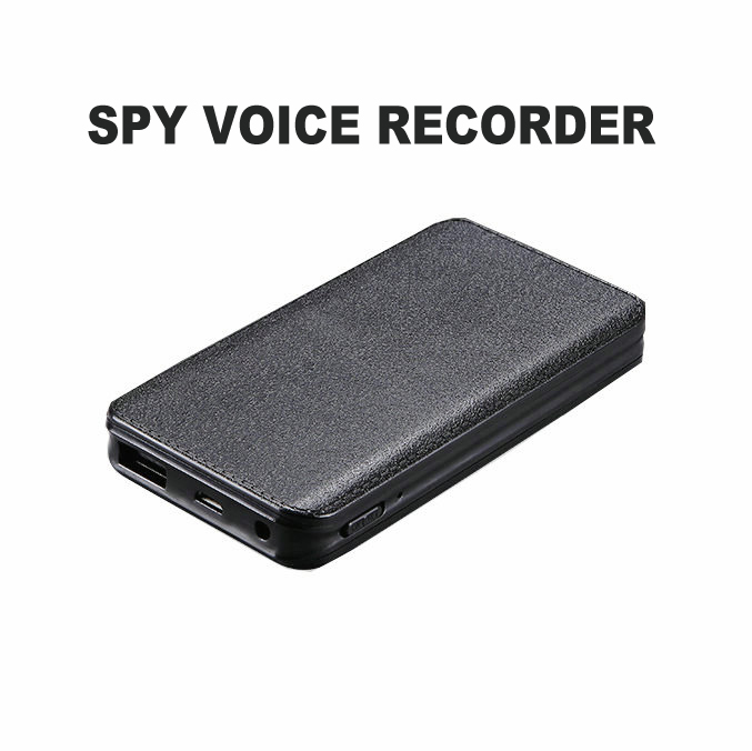 Multifunction Voice Activated USB Power Bank Hidden Voice Recorder 16 Days Recording