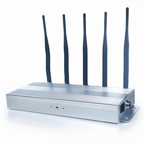 Mobile Network Jammer GSM CDMA 3G WCDMA Range 20M – Silver