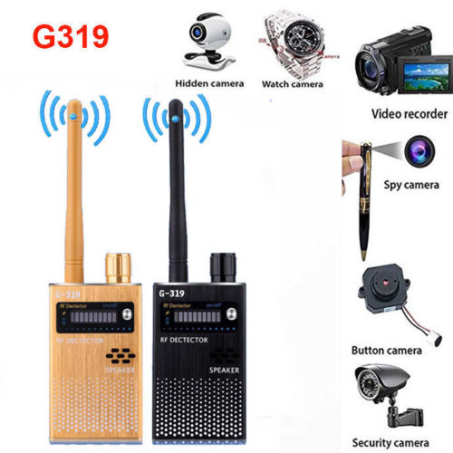 Anti-spy wireless Bug Detector RF Signal Detector GSM Listening Device Finder Radio Scanner Wireless Signal Alarm