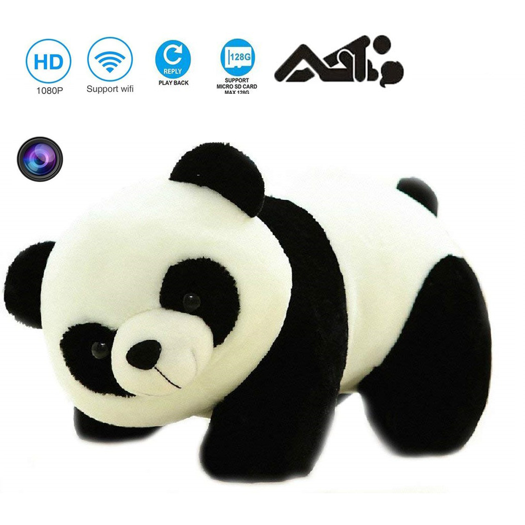 WiFi P2P IP Wireless Spy Camera HD 1080P in Teddy Bear with Battery – 5 Hours