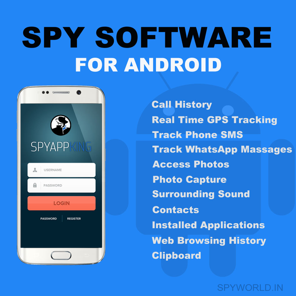 Spy Software for Android Mobile 1 Year - Undeletable