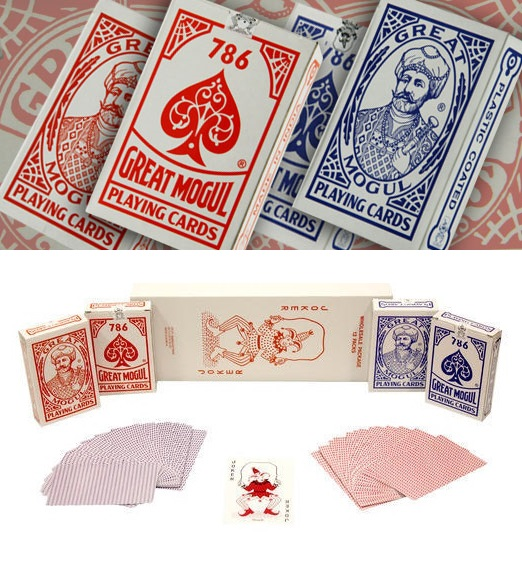 Spy Playing Card invisible Marked Cards - 786 Great Mogul
