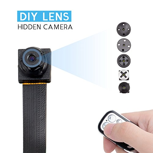 HD 1080P DIY Module Camera Video MINI DV DVR Motion With Remote Control