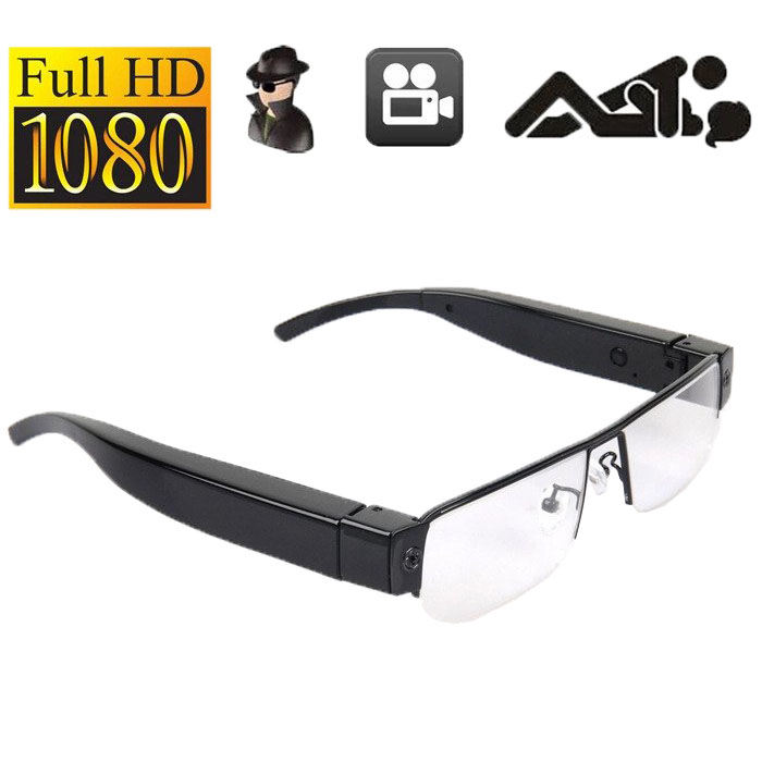 Spy Specs camera 1080P HD Half Frame eye glasses hidden camera Eye wear