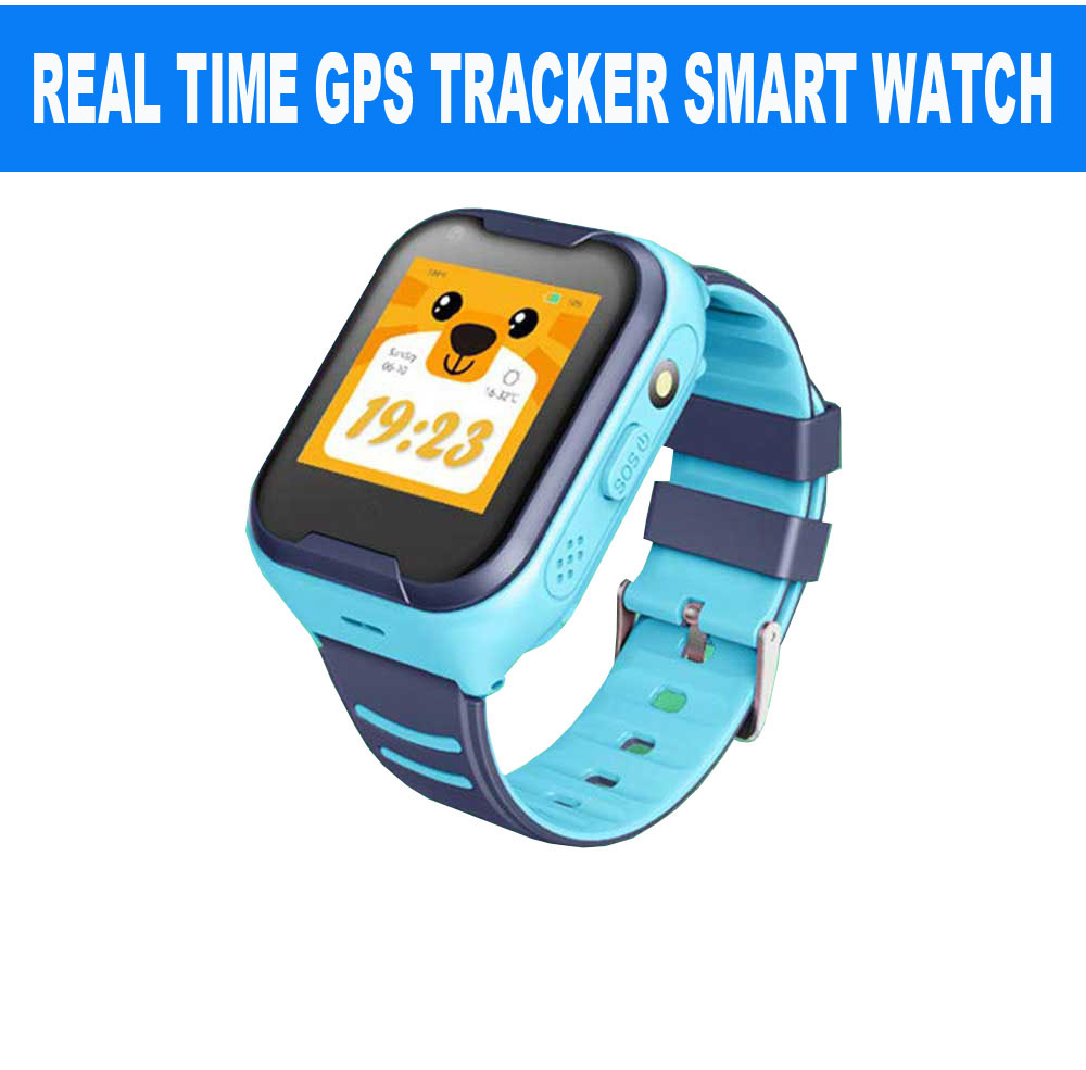 Spy Real Time GPS Positioning Kids Tracker Smart Watch SOS Button