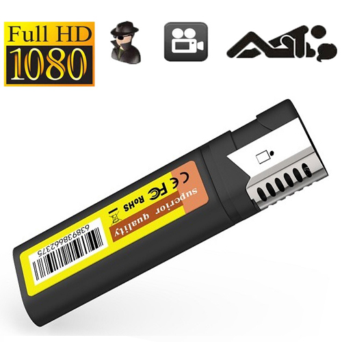 No hole M8 lighter 1080P mini lighter spy camera