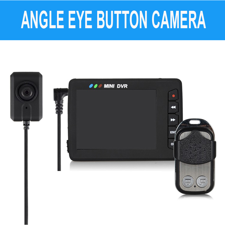 Angel Eye Spy Camera Mini DVR Video Recording System Motion Detection 2.7 Inch LCD Screen Remote